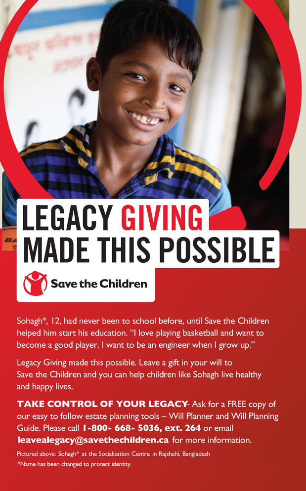 SAVE THE CHILDREN CANADA - Canadian Charities